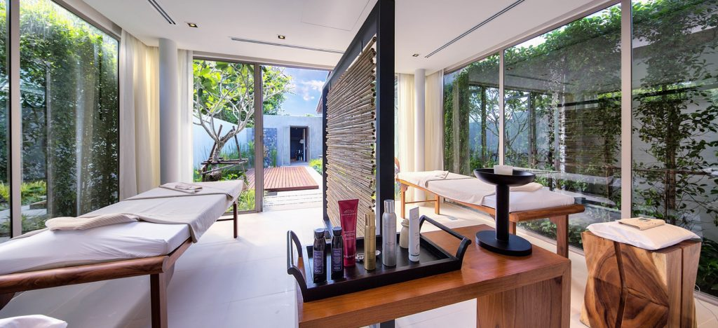 Luxury spa within the villa