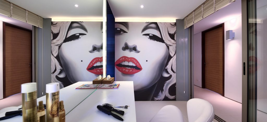 Hairdressing & Make-up area